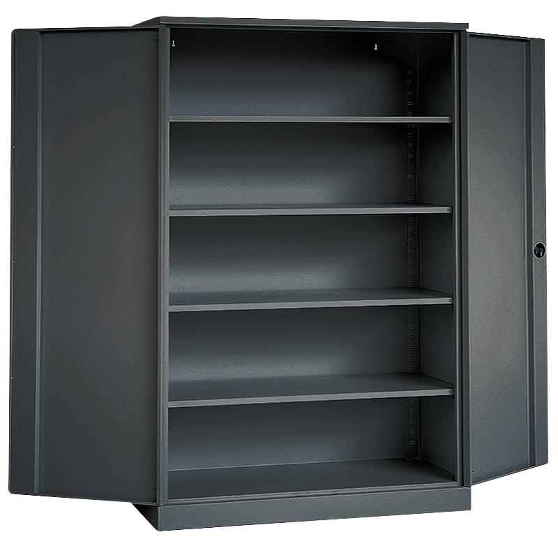 stahlschrank werkstattschrank werkzeugschrank stahl metall b roschrank anthrazit ebay. Black Bedroom Furniture Sets. Home Design Ideas